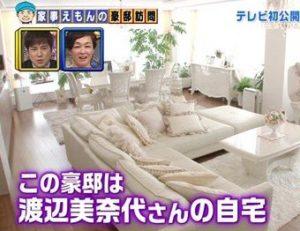 渡辺美奈代の自宅の場所・住所は港区で画像は?間取りと引っ越し